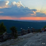 Sunset over the Monongahela Valley, Coopers Rock State Forest, Monongahela Valley Region
