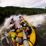 Wave-smacking on New River, Adventures on the Gorge