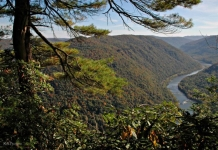New River at Grandview, Raleigh County, New River Gorge National River, New River Gorge Region