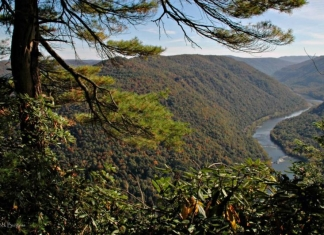 New River at Grandview, Raleigh County, New River Gorge National Park and Preserve, New River Gorge Region