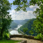 New River at Hawks Nest State Park, Ansted, WV, Fayette County, New River Gorge Region