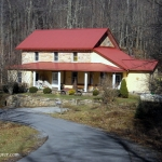 Old Stone House at Ravenseye, WV, Fayette County, New River Gorge Region