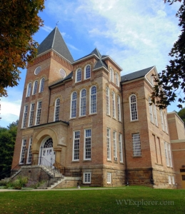 Pocahontas County Court House at Marlinton, WV, Allegheny Highlands Region