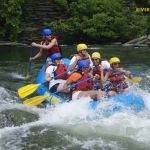 Rafters near Harpers Ferry, WV, Shenandoah River Whitewater Rafting, River Riders
