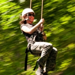 Zip-line tour at River Riders, Harpers Ferry, WV