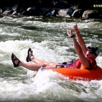 Tubing on the Potomac River, River Riders