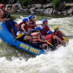 Paddlers on lower Potomac River, River Riders