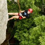 Above the treeline in New River Gorge