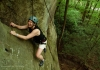Climbing near New River Gorge Bridge