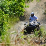 ATV enthusiast, Burning Rock ATV Trails, Sophia, WV, Hatfield & McCoy Region