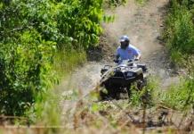 ATV enthusiast, Burning Rock ATV Trails, Sophia, WV, Hatfield & McCoy Region