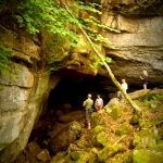 Caving at Sinks of Gandy, Osceola, WV, Randolph County, Allegheny Highlands Region
