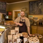 Barista at Small Talk Cafe, Glade Springs Resort, Dining, New River Gorge Region