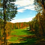 No. 16 at Stonehaven Golf Course, Glade Springs Resort, New River Gorge Region