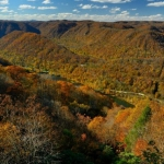 Stretcher Neck on New River, New River Gorge Nation River, New River Gorge Region