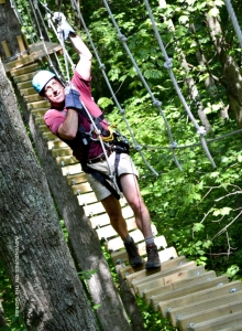 Sure-footed fun in New River Gorge, Adventures on the Gorge
