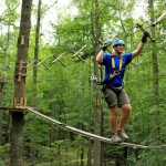 Guests on Timber Trek, Adventures on the Gorge