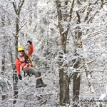 Winter wonderland in the canopy, Adventures on the Gorge