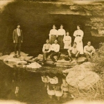 Picnic at Sinks of Gandy, Osceola, WV, Randolph County, Allegheny Highlands Region