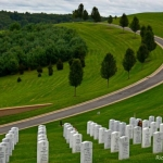 West Virginia National Cemetery at Grafton, WV, Taylor County, Monongahela Valley Region