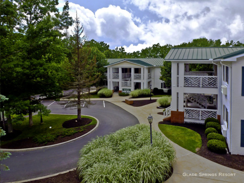 Executive suites at Glade Springs