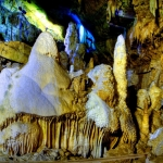 Smurf Village, Caving at Lost Word Caverns, Lewisburg, WV, Greenbrier County, Greenbrier Valley Region