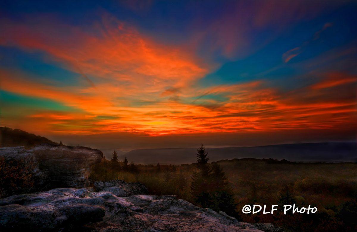 Dawn on Bear Rocks