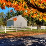 Autumn at Old Bethel Church, Romney, West Virginia, Hampshire County, Potomac Branches Region
