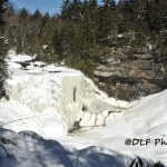 Blackerwater Falls frozen, Blackwater Falls State Park, Davis, West Virginia, Tucker County
