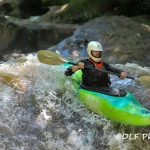 Kayaking on Deckers Creek, Morgantown, West Virginia, Monongahela County, Monongahela Valley Region