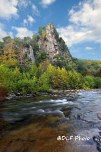Eagle Rock at Smoke Hole, Pendleton County, Potomac Branches Region