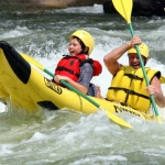Duo paddling the New River, River Expeditions