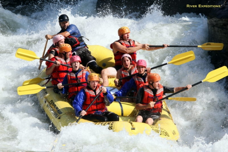 Eventful and colorful, October ideal for rafting in West Virginia