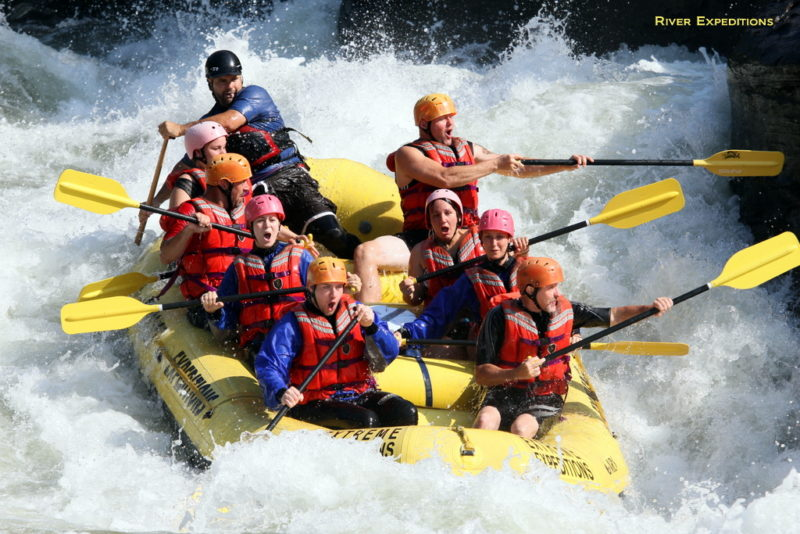 Raft-load on Gauley River