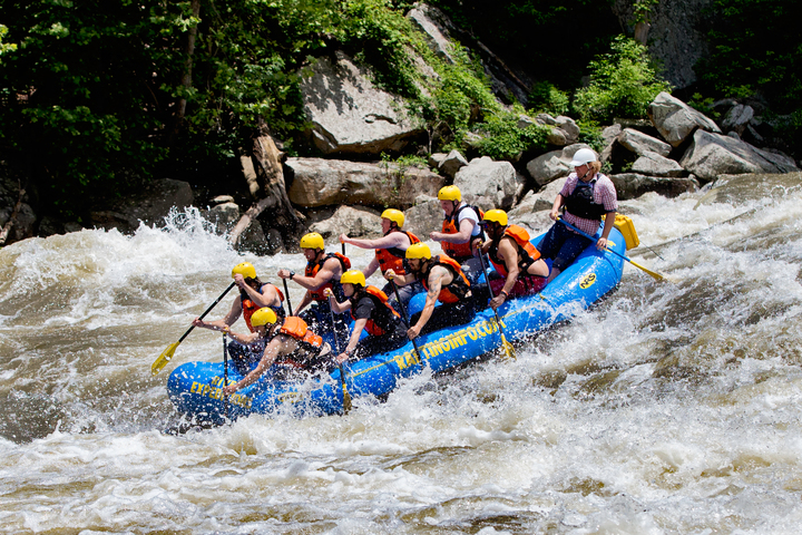 Muscle at work on Gauley River