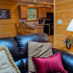 Interior of River Expeditions deluxe cabin