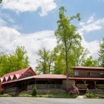 Lodge and conference center at River Expeditions, Fayetteville, Fayette County, New River Gorge Region