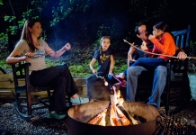 Fireside on vacation with River Expeditions