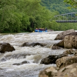 Whitewater rafters sweep into Fayette Station