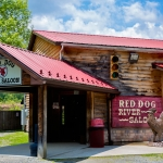 Red Dog Saloon welcomes whitewater rafters, Fayetteville, New River Gorge Region