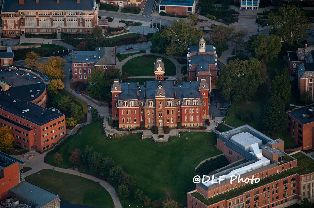 Woodburn from Above