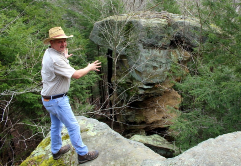 The Devil's Tea Table: Lore and Geology at Little Creek Park