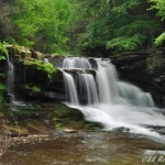 Dunloup Falls, Thurmond, West Virginia, Fayette County, New River Gorge Region