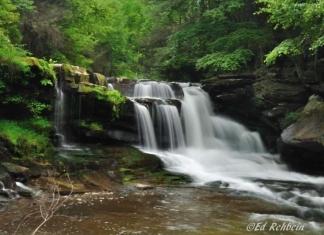 Dunloup Falls, Thurmond, West Virginia, Fayette County, New River Gorge Region