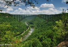 New River Gorge Bridge, Fayetteville, West Virginia, New River Gorge Region