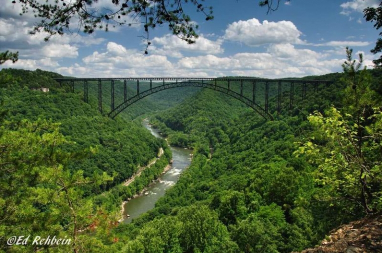 Part of scenic New River Gorge road closed through July