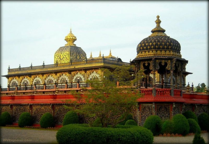 The Palace of Gold at New Vrindabin is among the most remarkable landmarks in West Virginia.