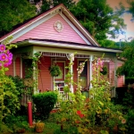 Pink House at Middlebourne, West Virginia, Tyler County, Mid-Ohio Valley Region