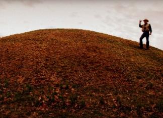 Exploring Shawnee Park Mound near Dunbar, West Virginia, for Prehistoric Landmarks Initiative