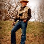 Editor surveys Shawnee Park Mound
